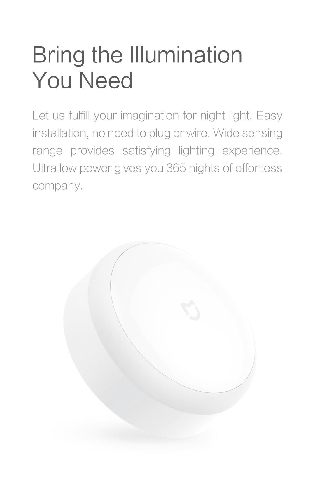 Mi Motion Sensor Night Light Yeelight Wiring A Lamp With Products